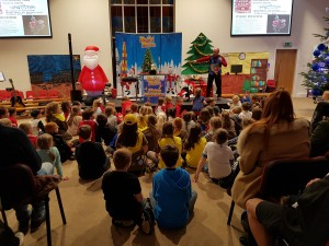 Part of our family Christmas events.
