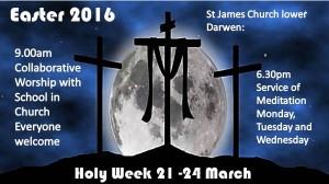 Holy Week at St James