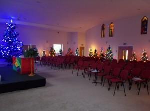 st james lower darwen christmas tree festival