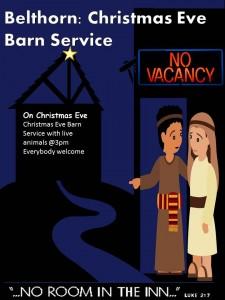 Barn Service at Belthorn