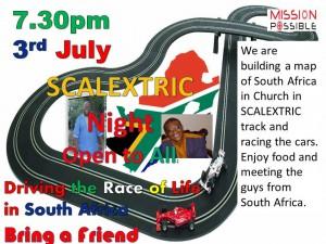 scalextric night in lower darwen